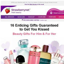 [StrawberryNet] 💝 16 Enticing Gifts Guaranteed to Get you Kissed