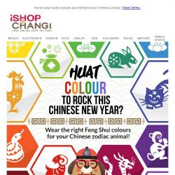 [iShopChangi] Get Lucky & Pup Some Colours 🌈 this CNY!