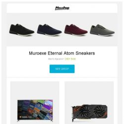 [Massdrop] Muroexe Eternal Atom Sneakers, LG 75-Inch UHD 4K HDR Smart LED HDTV, Gigabyte GeForce GTX 1070 WINDFORCE OC 8G REV 2.0 and more...