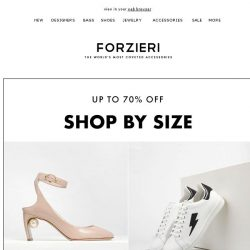 [Forzieri] Your Shoe Size now up to 70% Off