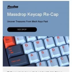 [Massdrop] Massdrop Keycap Re-Cap: A Chance at Old Favorites, Starting Friday