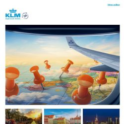 [KLM] ✈ , last chance to get your Dream Deal!