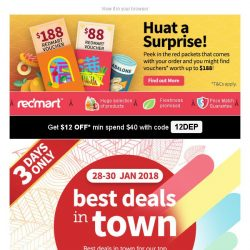 [Redmart] Best deals for Nestle, Shokubutsu, Tiger, and more!