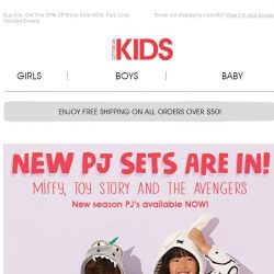 [Cotton On] All NEW Miffy, Toy Story and The Avengers Sleep Sets!
