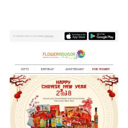 [Floweradvisor] WOOF WOOF! The Year Of The Earth Dog is Coming. Let's Celebrate!