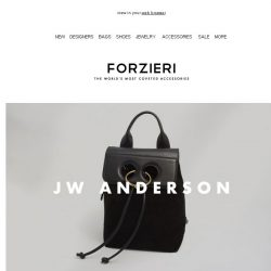 [Forzieri] New Arrivals From: JW Anderson, Jerome Dreyfuss and Jimmy Choo