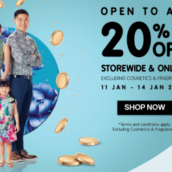 Metro: Enjoy 20% OFF Storewide & Online Excluding Cosmetics & Fragrances