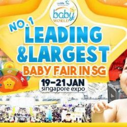 Baby World: Don't Miss the Largest Baby Fair in Singapore at Singapore Expo!