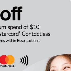 Cheers: Use Mastercard® Contactless for your purchases and get $3 OFF!