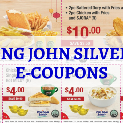 Long John Silver's: Flash These E-Coupons to Enjoy Savings on Meals!