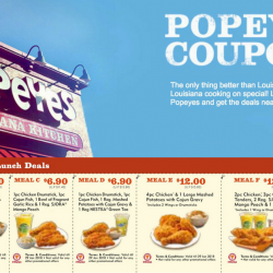 Popeyes: Save Up to $8.30 with These Coupons!
