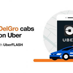 ComfortDelGro cabs are now on Uber! Get a ride faster and cheaper by 10% with UberFLASH!