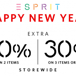 Esprit: CNY Sale with Up to 30% OFF Storewide for Esprit Friends