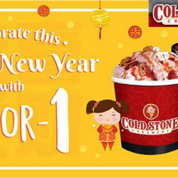 Cold Stone Creamery: Enjoy 1-for-1 Signature Creation Pints!