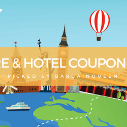 BargainQueen's Best Picks of the Month: Travel Coupon Codes for Airfares & Hotels (Jan 2018)
