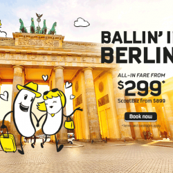 Scoot: Fly to Scoot's NEW Destination Berlin from $299!