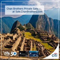 [Citibank ATM] Get new season preview offers at Chan Brothers Private Sale exclusively with your Citi Cards!