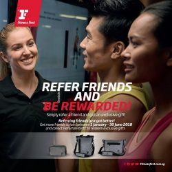[Fitness First] BETTER WITH FRIENDS: One of the greatest gift in life is fitness and health, so why not share it with