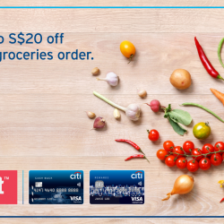 [Citibank ATM] It's time to do some early grocery shopping!
