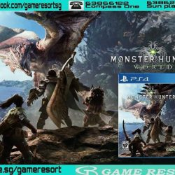 [GAME RESORT] PS4 Monster Hunter World Standard Edition,Monster Hunter is an action RPG series that puts you in the boots of