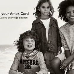 [American Express] Register your eligible Amex Card to get S$5 savings on your next purchase with a min.