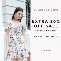[MDSCollections] The sale starts now, online exclusive | Extra 20% off on sale items