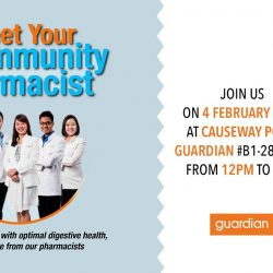 [Guardian] Come meet our friendly Guardian pharmacists and enjoy a slew of health activities on the day!