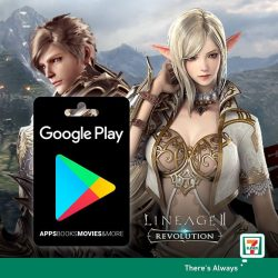 [7-Eleven Singapore] From 10 January to 6 February, purchase a Google Play gift card from 7-Eleven for up to $120 in
