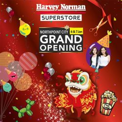 [Lee Wee & Brothers' Foodstuff] You can expect a bigger space and even bigger savings at HarveyNormanSG's first superstore in the north!