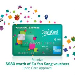[American Express] Receive S$10 Eu Yan Sang Voucher + exclusive discounts on abalone gift sets!