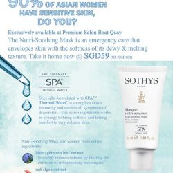 [Sothys] Preview of the exclusive promotions at the soft launch of Sothys Singapore's 1st Premium Salon Sothys Premium Salon Boat