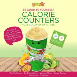 [Boost Juice Bars Singapore] Time to work on your New Year's resolution!