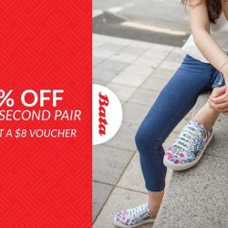 [Bata Shoe Singapore] Celebrate the Lunar New Year with us and enjoy 28% off your second pair of shoes and get an $8