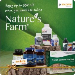 [NTUC Income Insurance] It's time for a bountiful harvest from Nature's Farm!