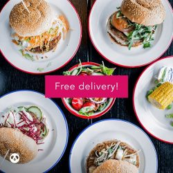 [foodpanda] Good food becomes great food when it's paired with free delivery!