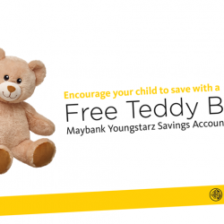 [Maybank ATM] Let your child experience the fun of creating a bear of their own!