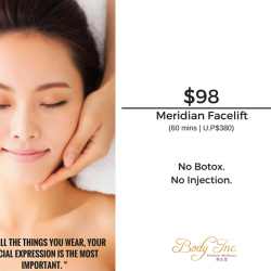 [Body Inc. Integrated Medicine] Promotion: Celebrate this Chinese New Year with a new facelift!