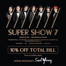 "[Seoul Yummy] We are excited to announce that we are the official restaurant for SUPER JUNIOR WORLD TOUR ""SUPER SHOW 7"" in"