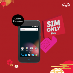 [Singtel] Get a ZTE Blade L110 for only $1 (U.