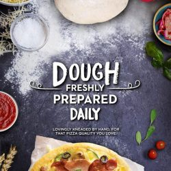[Pizza Hut Singapore] Each crunch into our irresistible pizzas begins with dough that's freshly prepared, pounded and baked daily.