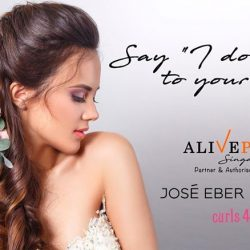 [Jose Eber] Are you a blushing bridetobe?