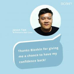 [Bioskin/AbsTrim] Don't hear it from us, hear it from our customers who have tried Bioskin's Hair Prosthesis!