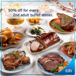 [Citibank ATM] Celebrate Chinese New Year with hearty goodies and food with your loved ones!