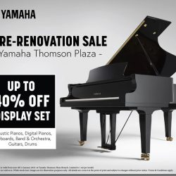 [YAMAHA MUSIC SQUARE] You don't want to miss this last weekend pre-renovation sale!