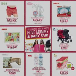 [Spring Maternity] Last chance to shop the Bove Mommy & Baby Fair Best Buys promotion today!