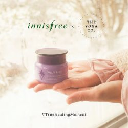 [Innisfree Singapore] We're combining the healing benefits of the Orchid Enriched Cream and yoga with an innisfree Singapore x The Yoga