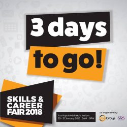 [SSA Consulting Group] 3 days to go and we will see you at SKILLS AND CAREER FAIR 2!