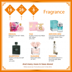 [Sasa Singapore] Feel good and smell good at Sasa!
