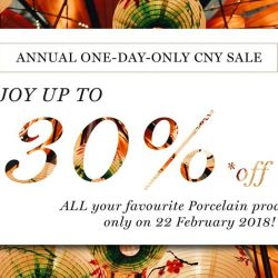 [Porcelain Aesthetics] GOOD NEWS: Our annual one-day-only CNY sale is here again!