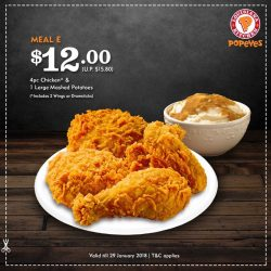 [Popeyes Louisiana Kitchen Singapore] Qualifying for these great deals have never been easier!